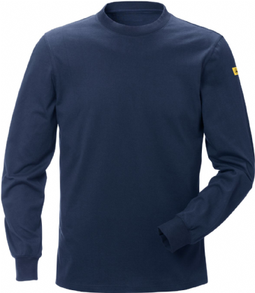 Fristads ESD Long Sleeve T-Shirt 7082 XTM (Dark Navy)